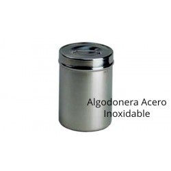 Algodonera Acero inoxidable Grande